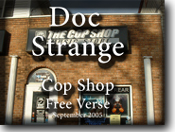 Doctor Strange at the Cop Shop